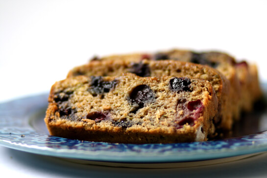 Blueberry Zucchini Bread {Gimme Some Oven}