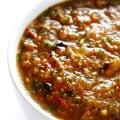 Roasted Tomato Salsa -- ready to go in 20 minutes, and full of rich and fresh flavors! | gimmesomeoven.com