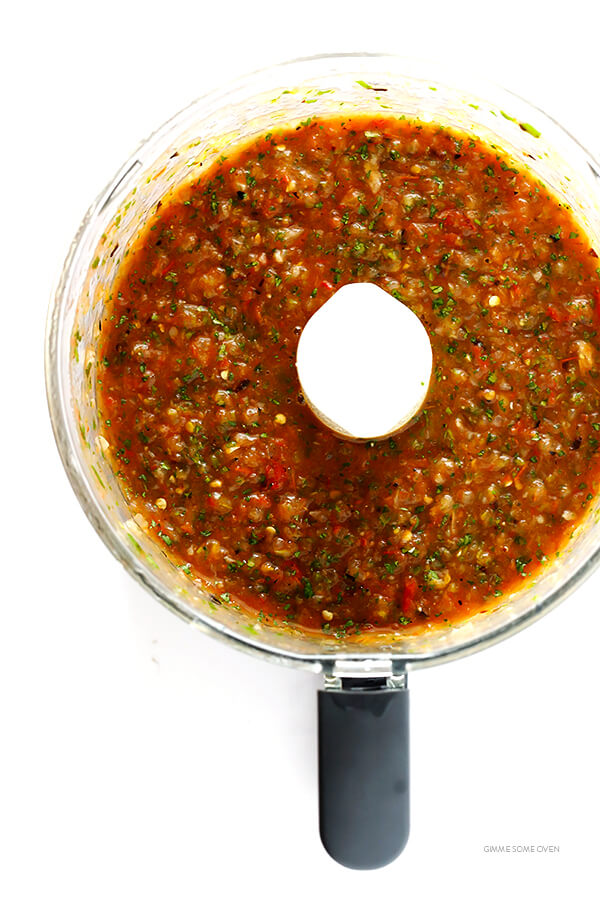 Roasted Tomato Salsa 4