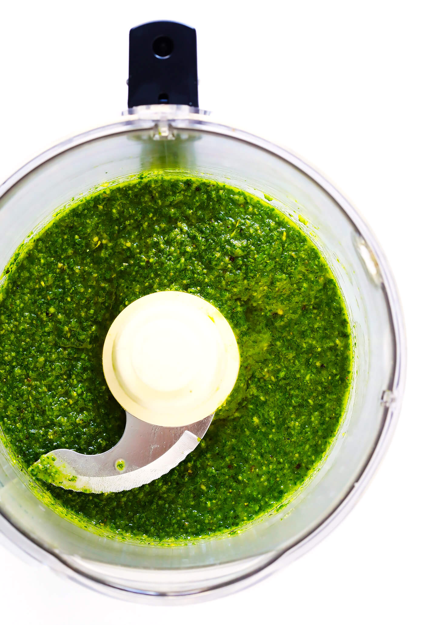 How To Make Pesto in a Blender or Food Processor
