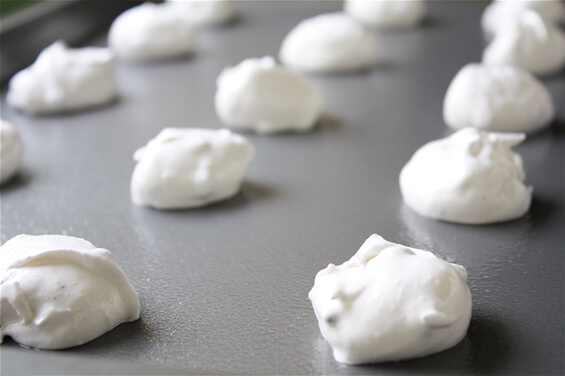 "15 thoughts on "" Chocolate Chip Meringue Cookies """