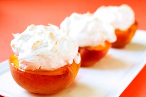 peaches-and-meringue