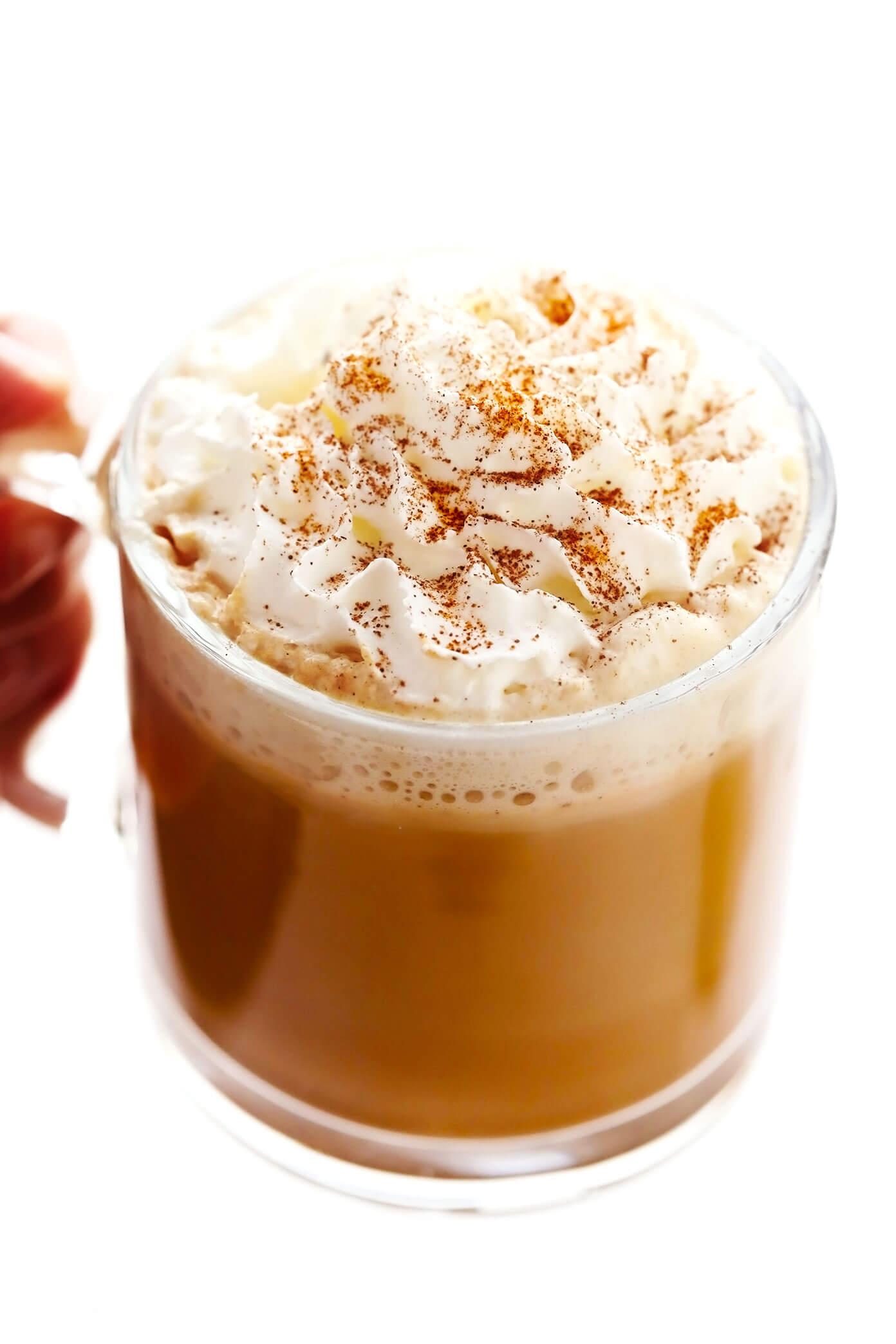 Mug of Pumpkin Spice Latte