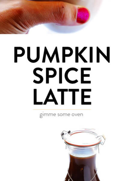 How to make a homemade pumpkin spice latte