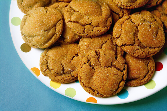 Chewy Ginger Molasses Cookies | Gimme Some Oven