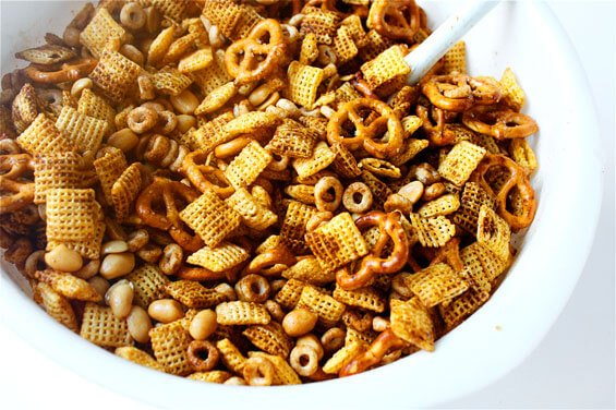 ... Cornucopia of Cooking: Appetizers- OLD SCHOOL Chex Party Mix