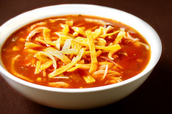 Slow-Cooker Chicken Tortilla Soup {Gimme Some Oven}