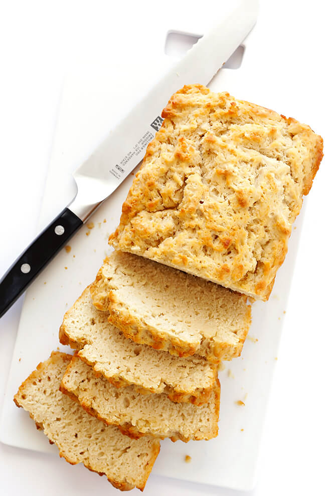 I absolutely LOVE my homemade Honey Beer Bread recipe! It calls for just 6 ingredients, it's super easy to make, and so delicious. | gimmesomeoven.com