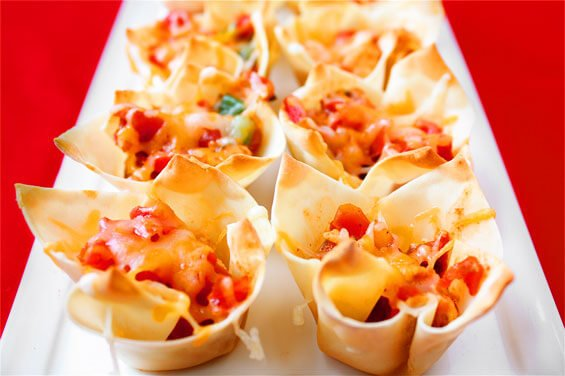 Chipotle Chicken Cups