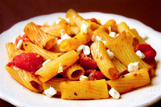 Pasta With Greek Cinnamon-Tomato Sauce