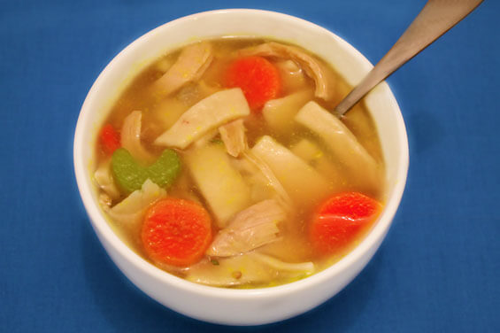 Classic Chicken Noodle Soup {Gimme Some Oven}