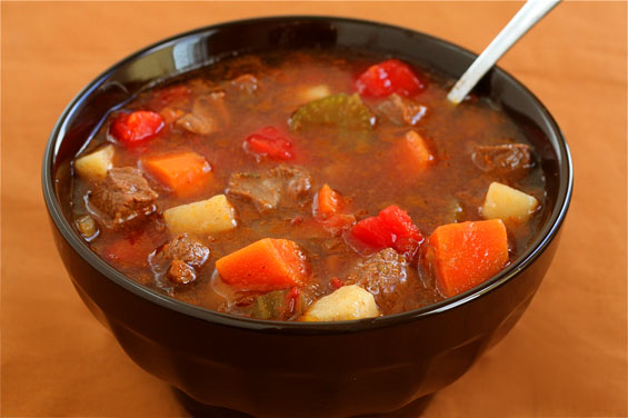 Steak Soup (Vegetable Beef Soup) Recipe | Gimme Some Oven