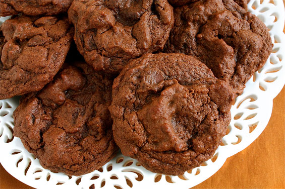 Chocolate Chocolate Chip Cookies (Double Chocolate Chip Cookies) {Gimme Some Oven}
