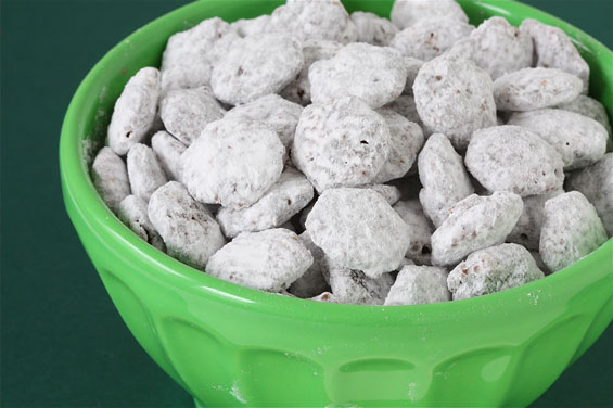 "Puppy Chow (a.k.a. ""Muddy Buddies"")"