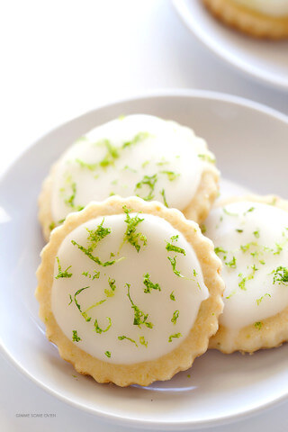 Coconut Lime Shortbread Cookies 3
