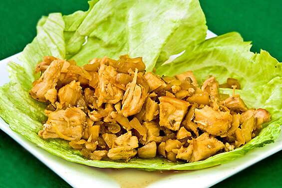 Chicken Lettuce Wraps {Gimme Some Oven}