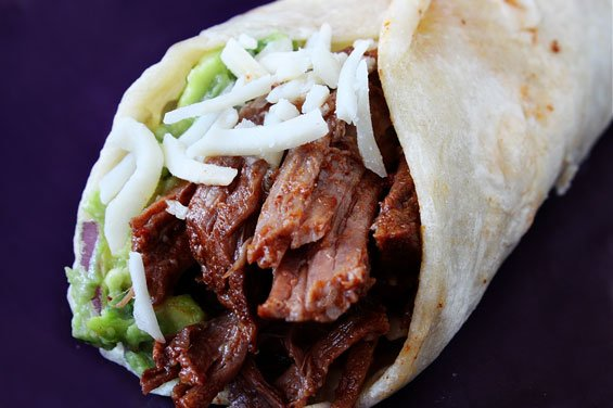 Slow-Cooker Shredded Beef Tacos {Gimme Some Oven}