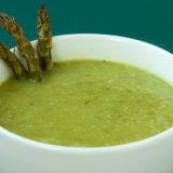 Creamy Roasted Asparagus Soup