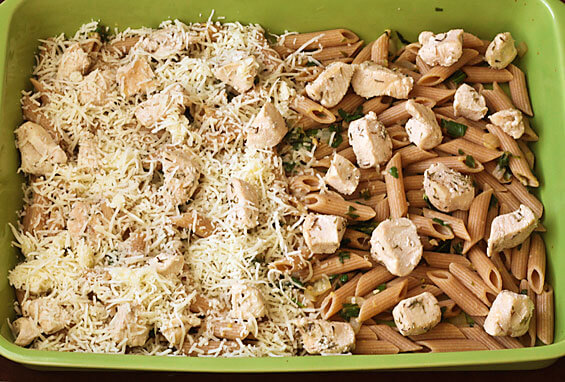 Baked chicken and spinach pasta recipes
