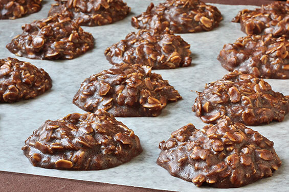 No Bake Cookies | gimmesomeoven.com