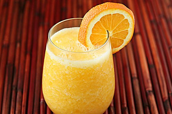 Fresh Orange Smoothie (
