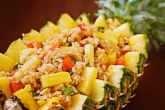 Pineapple Fried Rice {Gimme Some Oven}