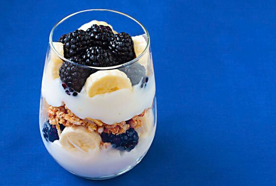 Easy Breakfast Parfait {Gimme Some Oven}