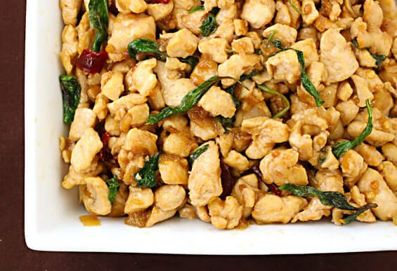 Thai Basil Chicken (Gai Pad Krapow) {Gimme Some Oven}
