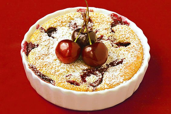 Cherry Clafoutis {Gimme Some Oven}