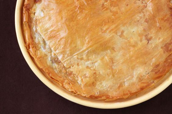 Moroccan-Style Chicken Pie | gimmesomeoven.com