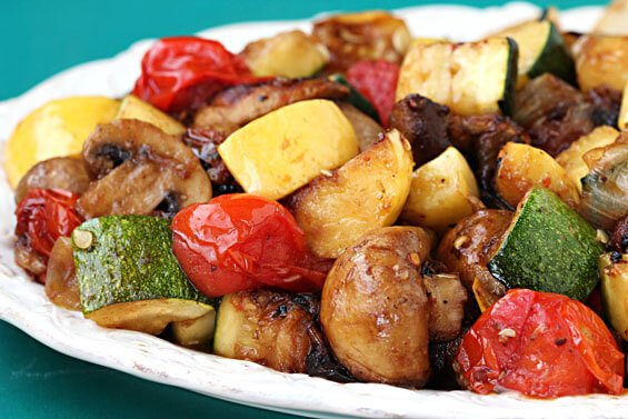 Easy Grilled Vegetables {Gimme Some Oven}