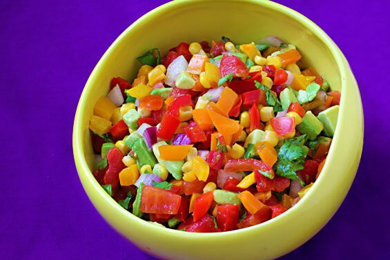 Colorful Summer Salsa