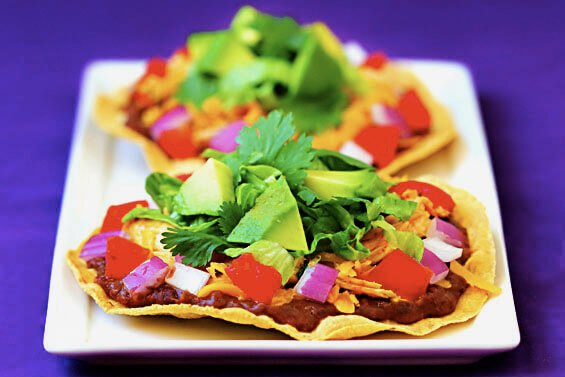 Chicken Tostadas {Gimme Some Oven}