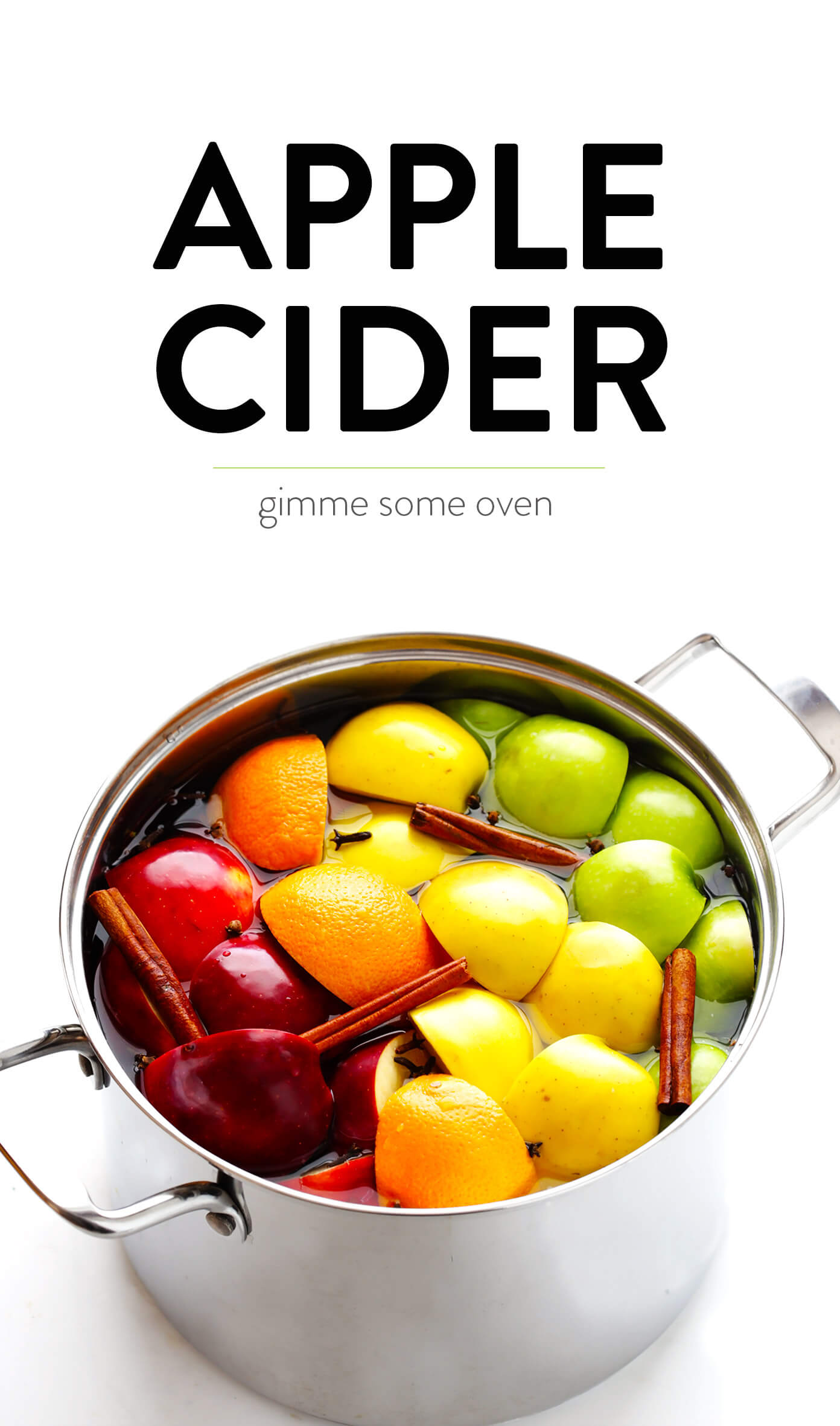 Easy Homemade Apple Cider Recipe | Stovetop, Instant Pot or Crock-Pot