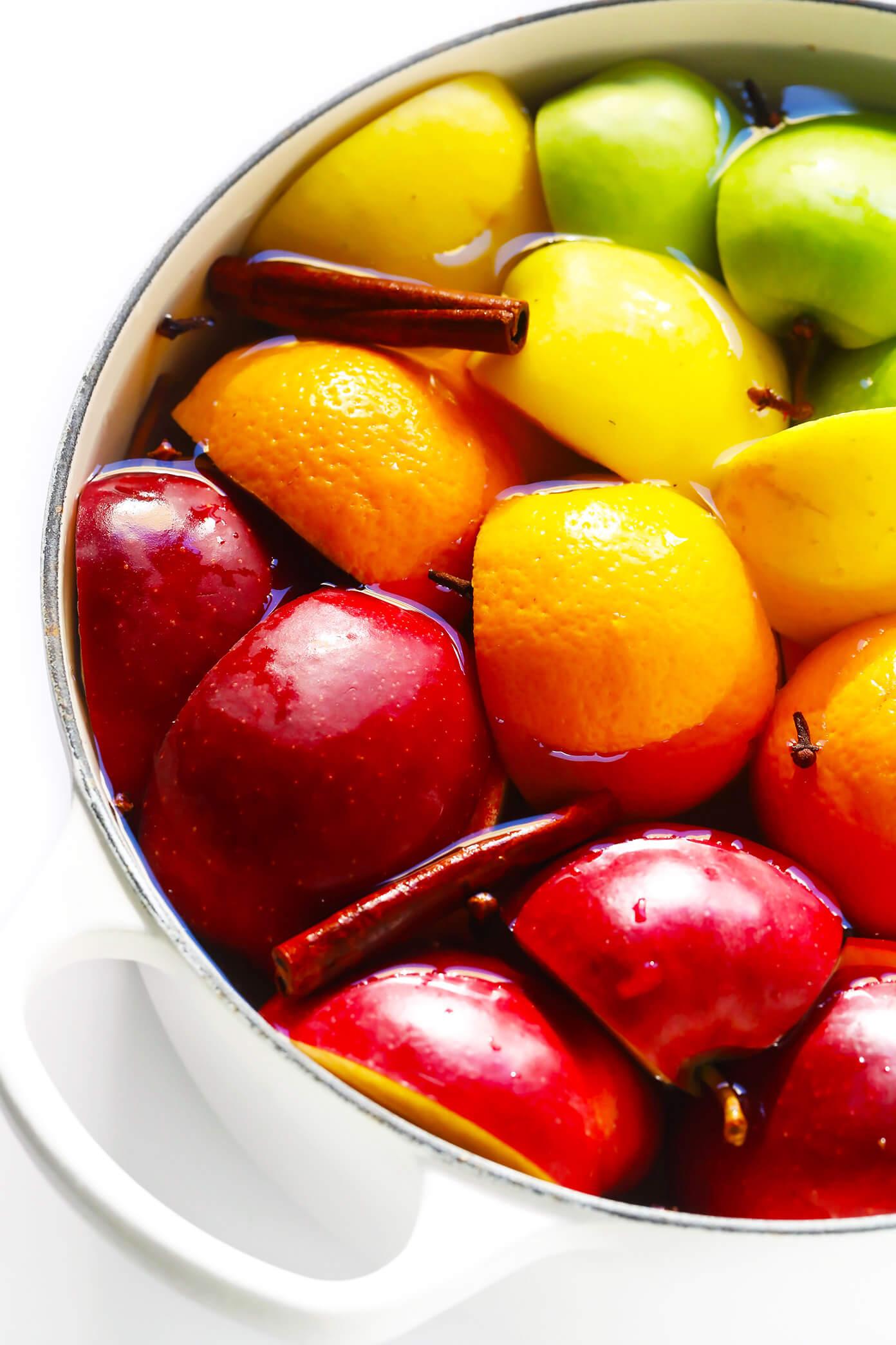 Stovetop Apple Cider Recipe