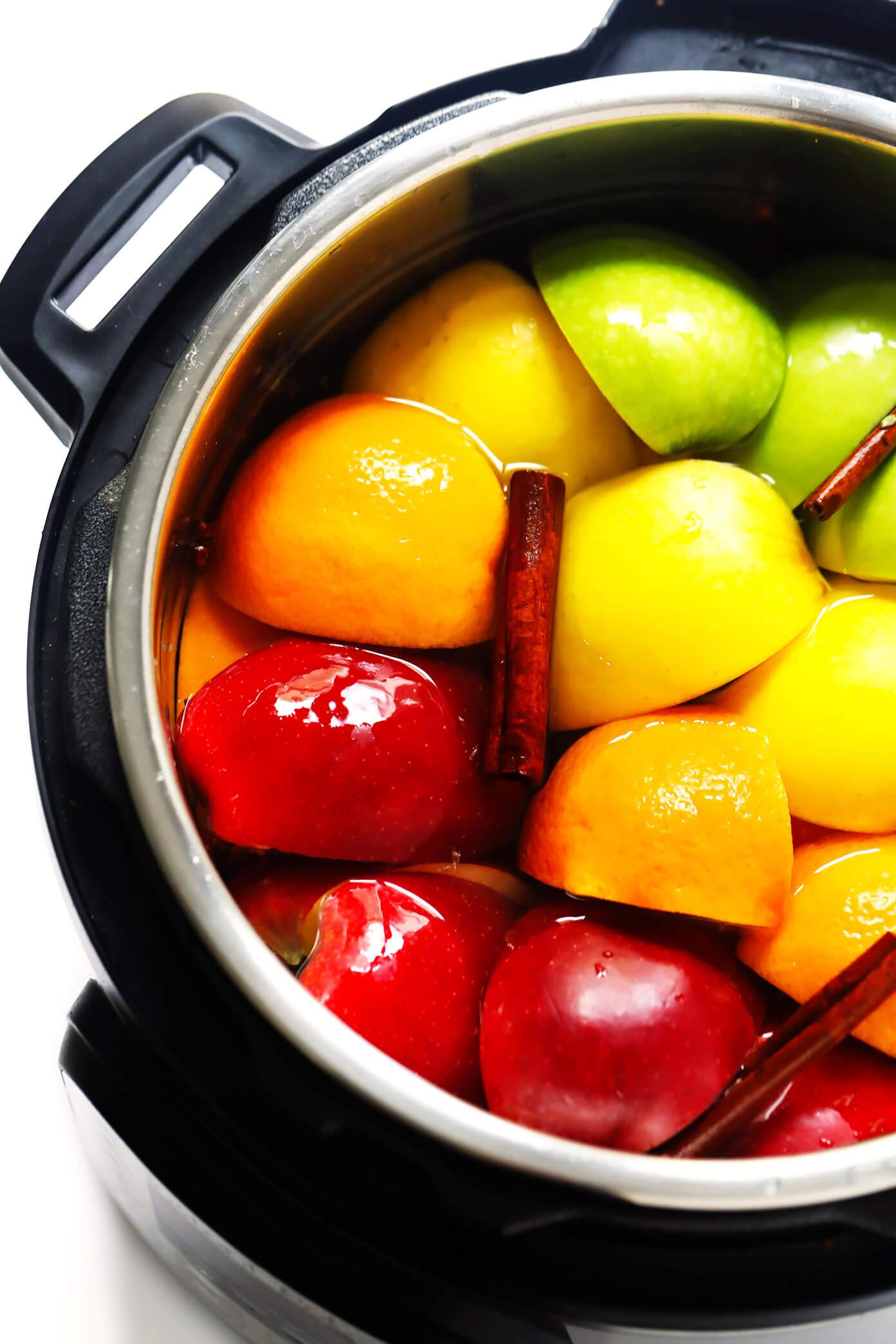 Instant Pot Apple Cider Recipe