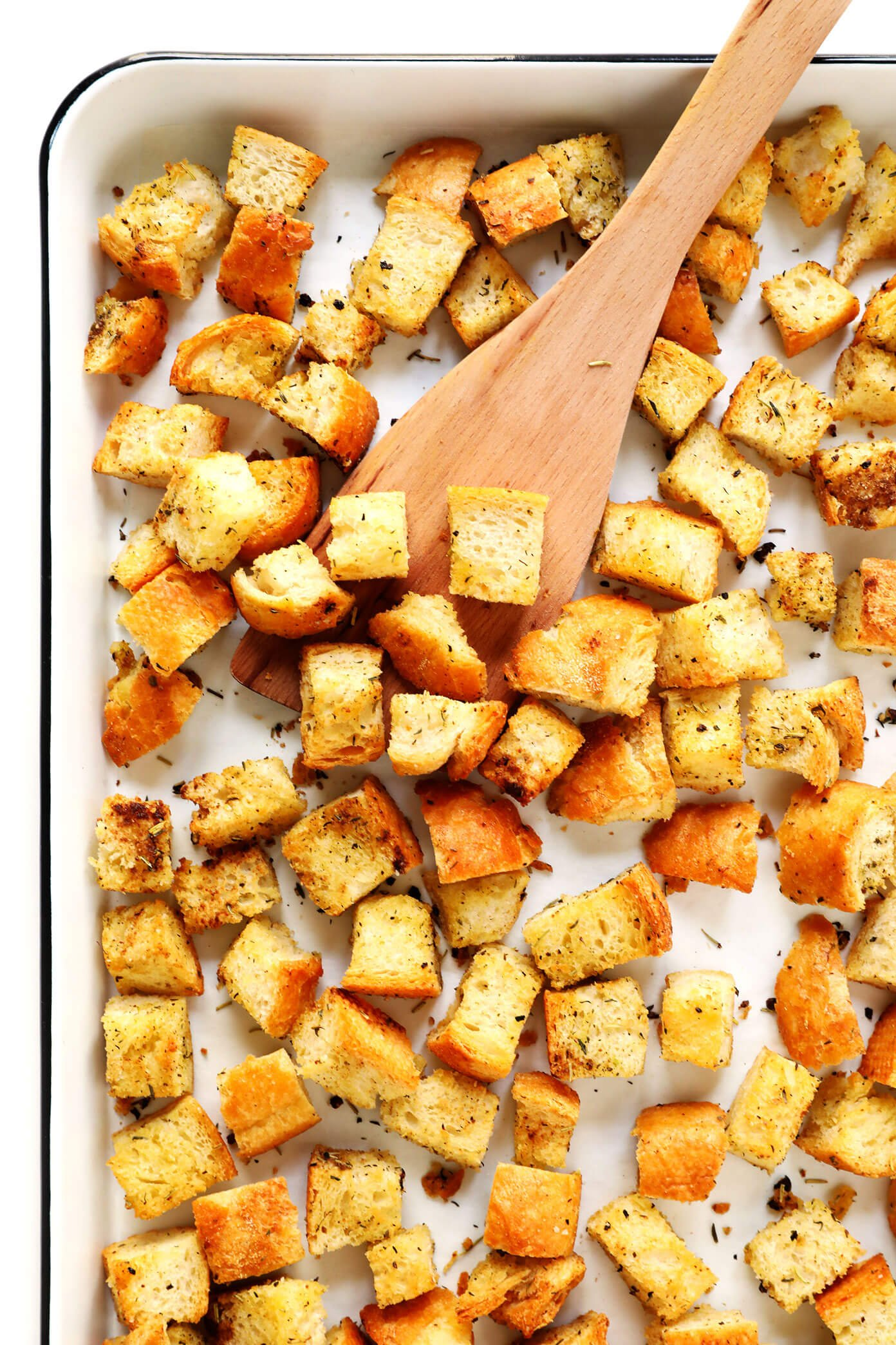 The BEST Homemade Croutons Recipe