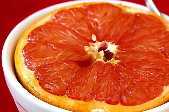 Sugar-Broiled Grapefruit