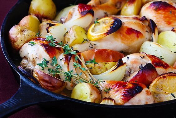 Apple Cider Baked Chicken