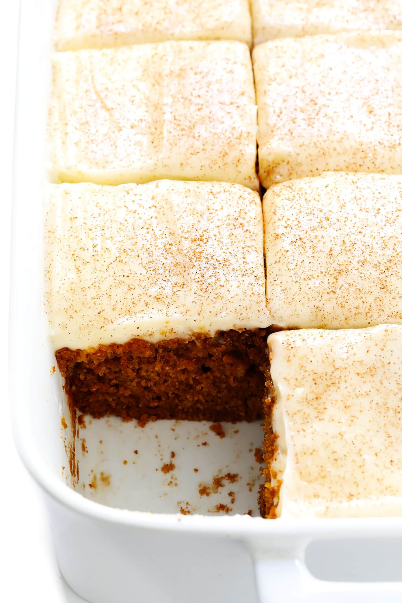 Pumpkin Bars with Cream Cheese Icing Recipe