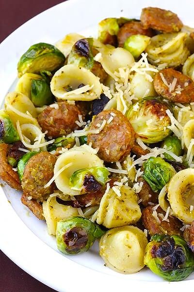 pesto pasta chicken recipe healthy