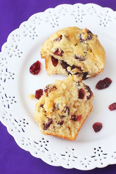 Cranberry Orange Muffins   gimmesomeoven.com