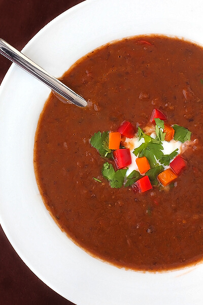 ... spicy black bean soup you ll love this spicy black bean soup recipe it