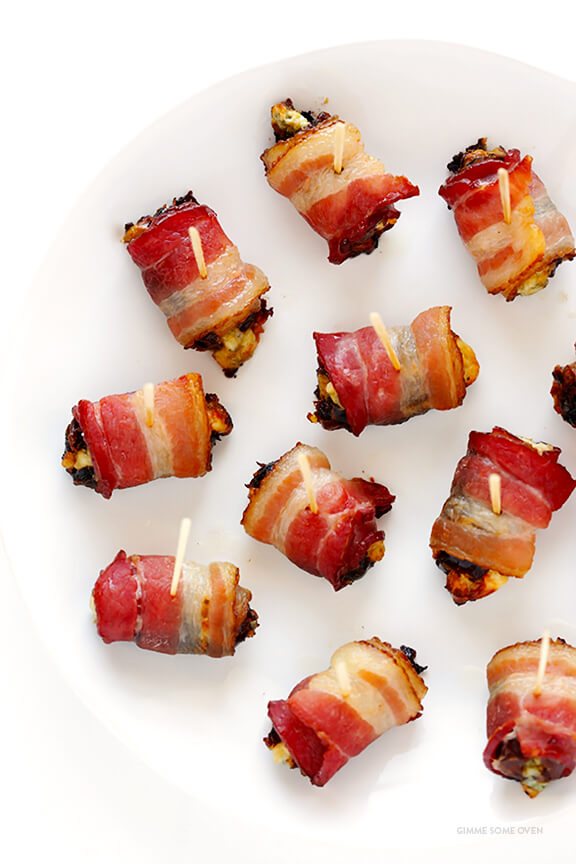 Bacon Wrapped Dates 4