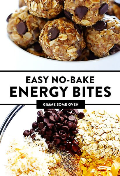 No Bake Energy Bites Recipe