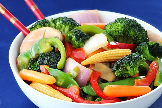 Ginger Vegetable Stir Fry