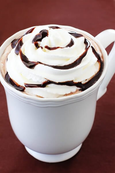 Nutella Hot Chocolate | gimmesomeoven.com