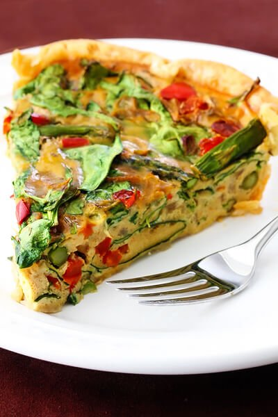 Dairy Free Vegetable Quiche With Eggs Gimme Some Oven