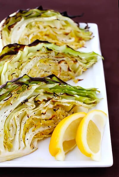 print yield 8 roasted cabbage wedges roasted cabbage wedges you will ...