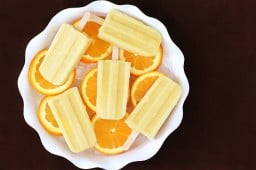 Pineapple Orange Banana Popsicles